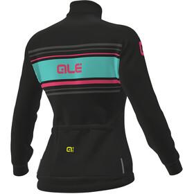 Alé Cycling Solid Sinuosa Longsleeve Jersey Women black-fluo pink